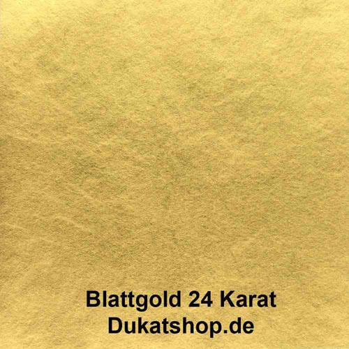 24 Karat Blattgold