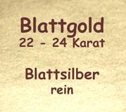 Blattgold+Blattsilber, Hefte