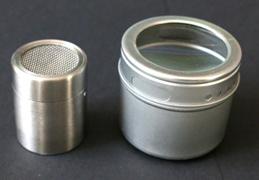 Streudosen Gold+Silber (leer)