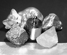 Chrom-Silber Lack
