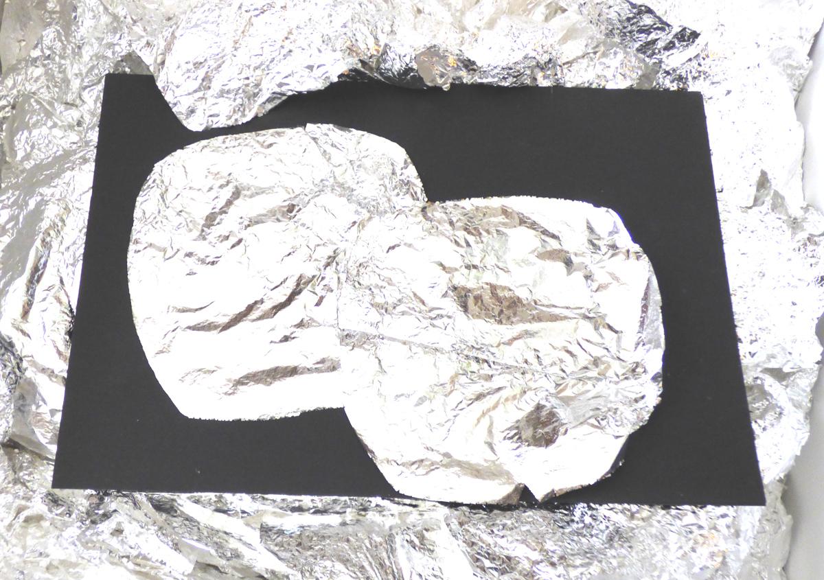 Silber Schabin, Echtsilber groß bis 14x14cm