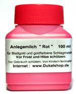 Anlegemilch Rot