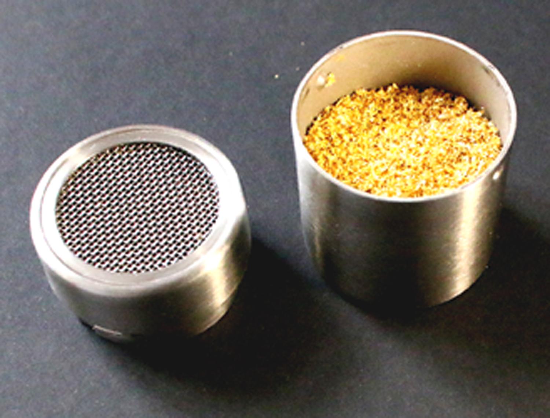 Goldpulver 200 mg mit Streuer