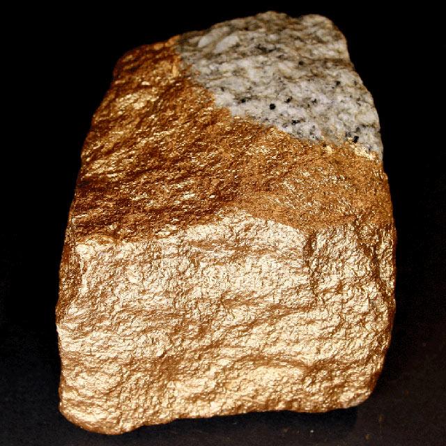 Goldbronze Effektlack Tempelgold