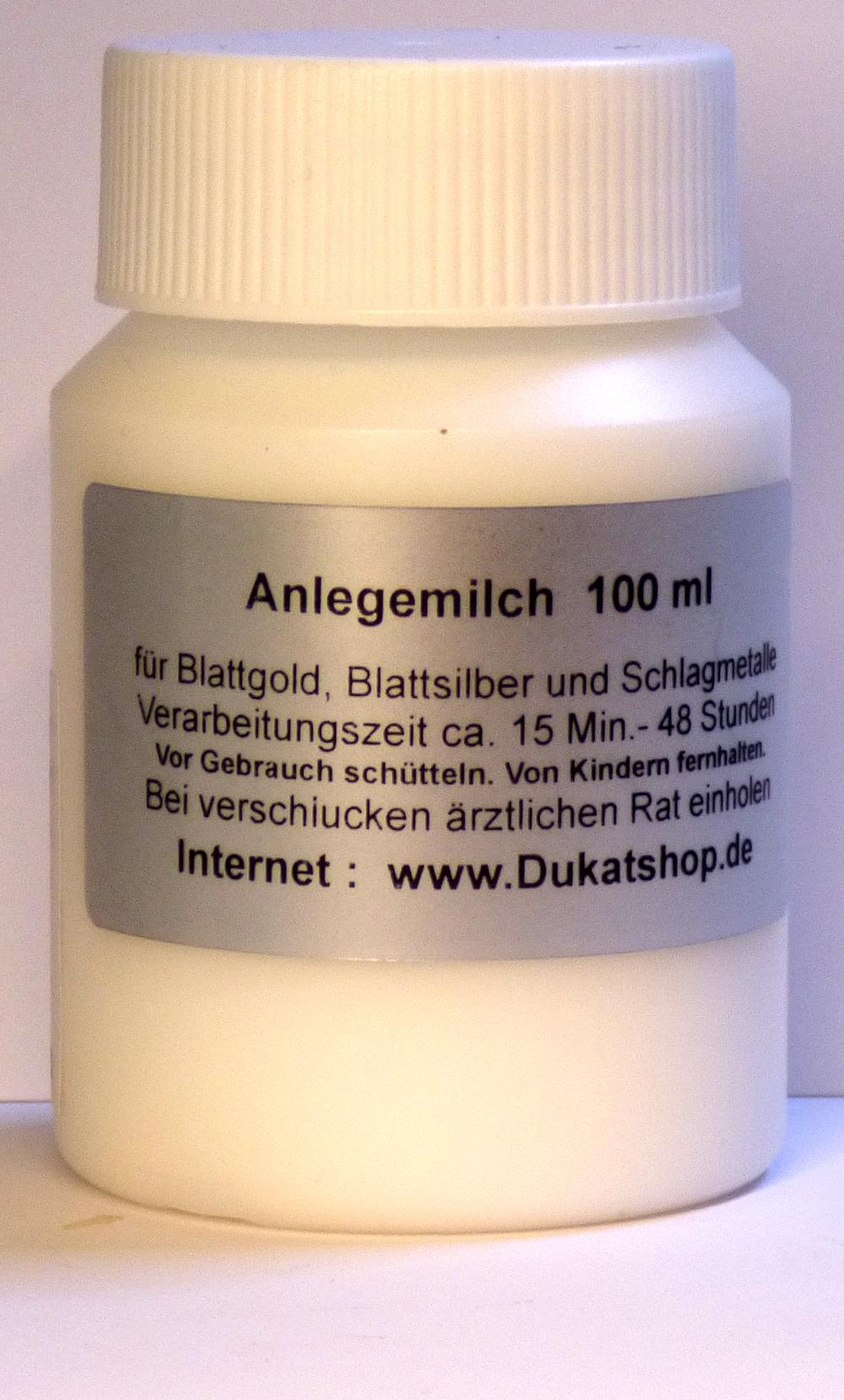 100 ml Anlegemilch - PE-Flasche