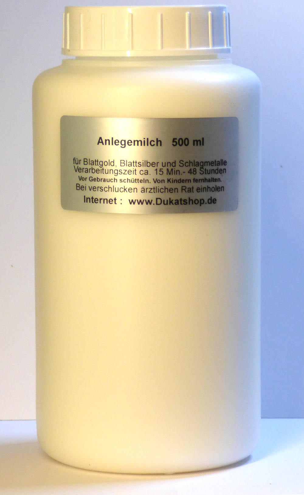 500 ml Anlegemilch - PE-Flasche