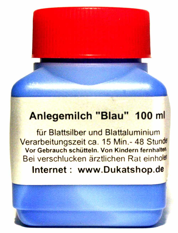 100 ml Anlegemilch - Blau -
