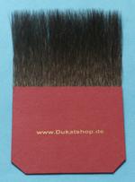 3,0 Zoll Breite. 60 mm Haarlänge, echtes Fehhaar